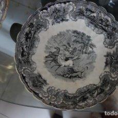 Antigüedades: FUENTE HONDA DE CERÁMICA DE CARTAGENA DEL SIGLO XIX. Lote 218779072