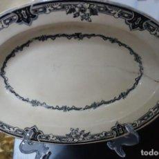 Antigüedades: FUENTE DE CERÁMICA DE CARTAGENA DEL SIGLO XIX. Lote 218779602