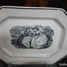 Antigüedades: FUENTE DE CERÁMICA DE CARTAGENA DEL SIGLO XIX. Lote 218779832