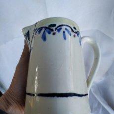 Antigüedades: ANTIGUA JARRA MANISES. VALENCIA. 15 CM ALTO.. Lote 218805401