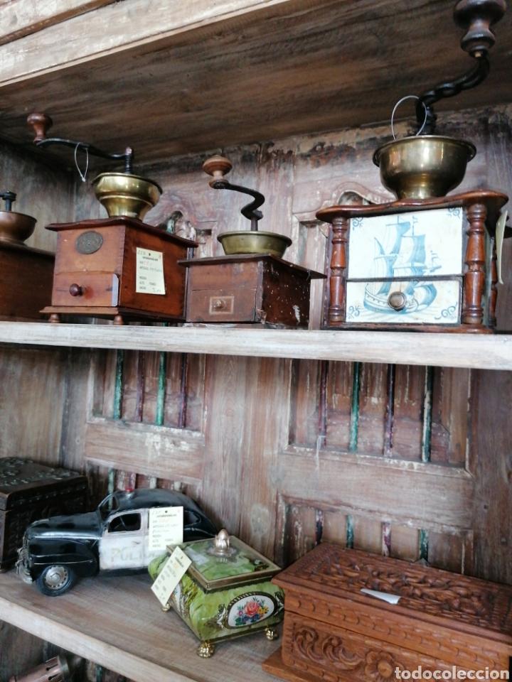 Antigüedades: Librería de madera reciclada - Foto 3 - 218879017