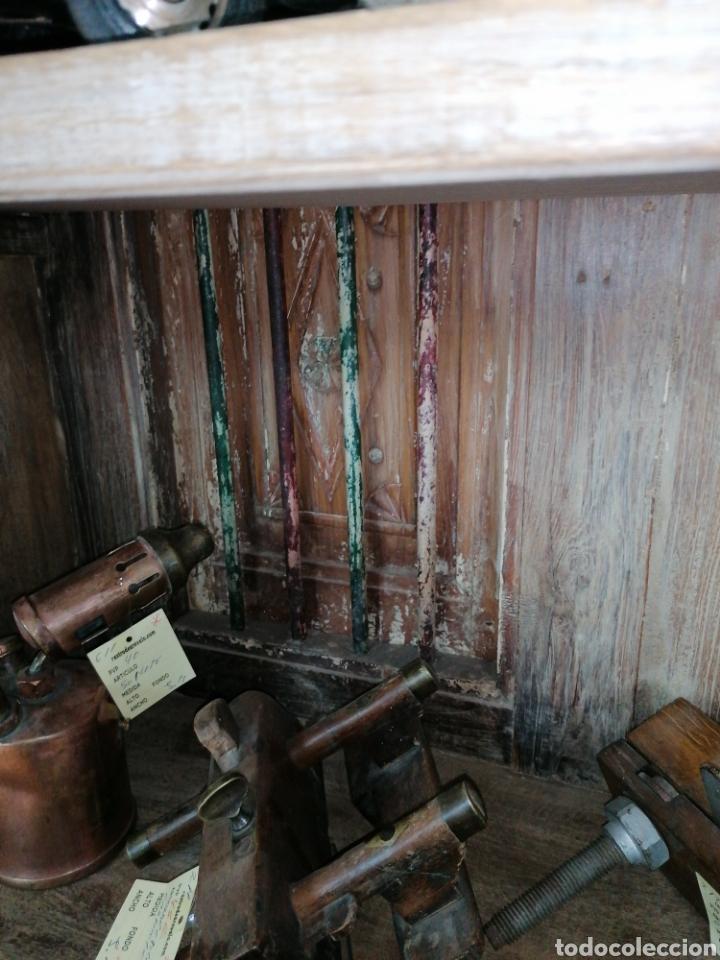 Antigüedades: Librería de madera reciclada - Foto 4 - 218879017