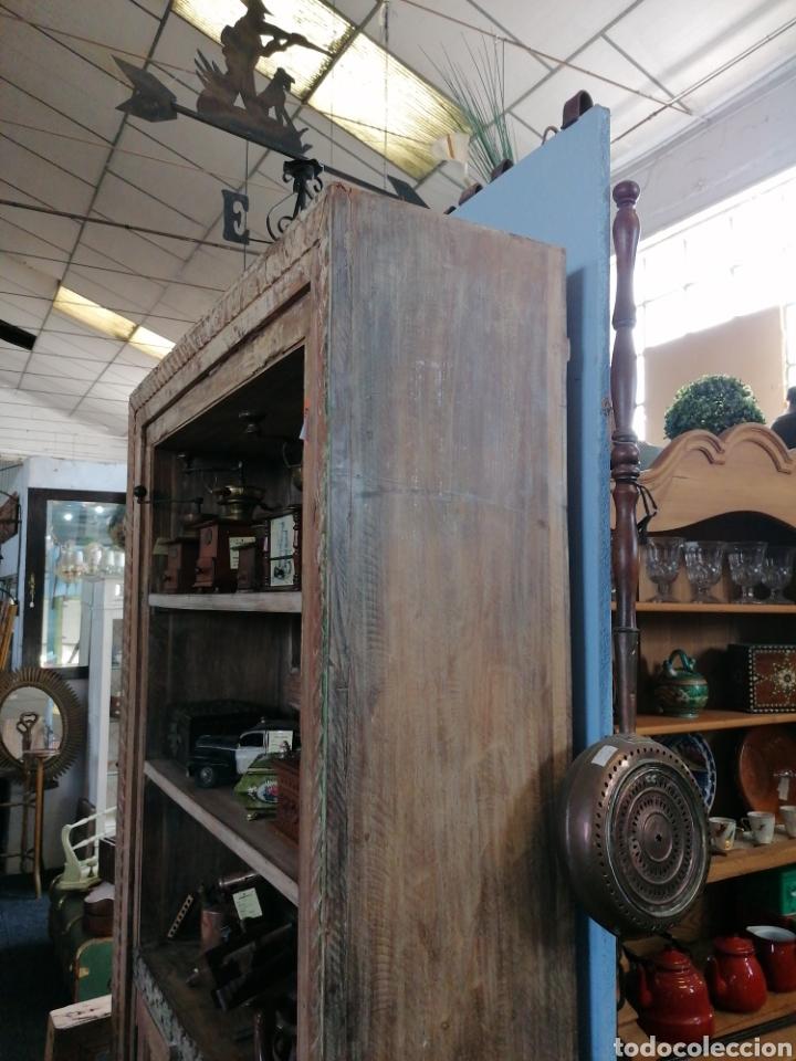 Antigüedades: Librería de madera reciclada - Foto 6 - 218879017