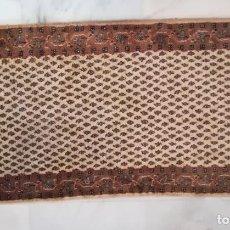 Antigüedades: ALFOMBRA MIR (INDIA) DE LANA 163 X 89 CM DE LOS AÑOS 90 - HECHA A MANO. Lote 218880062