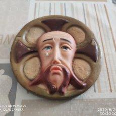 Antiguidades: FIGURA RELIGIOSA SANTA FAZ (ANTIGUA). Lote 218884948