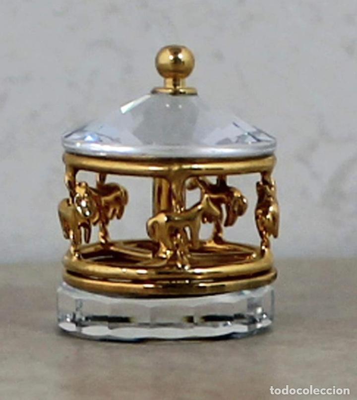 CARRUSEL CRISTAL SWAROVSKI MINI (Antigüedades - Cristal y Vidrio - Swarovski)