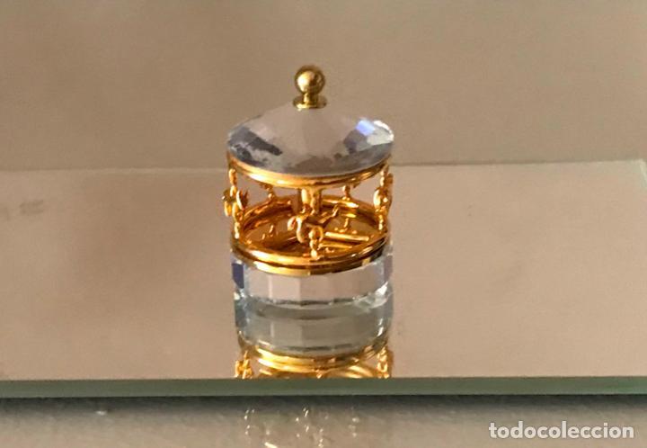 Antigüedades: Carrusel Cristal Swarovski mini - Foto 2 - 218906120