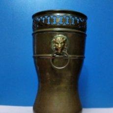 Antigüedades: ANTIGUO JARRÓN DE BRONCE.. Lote 218930861