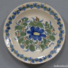 Antigüedades: ANTIGUO PLATO DE CERAMICA. MANISES. SIGLO XIX. Lote 218931370