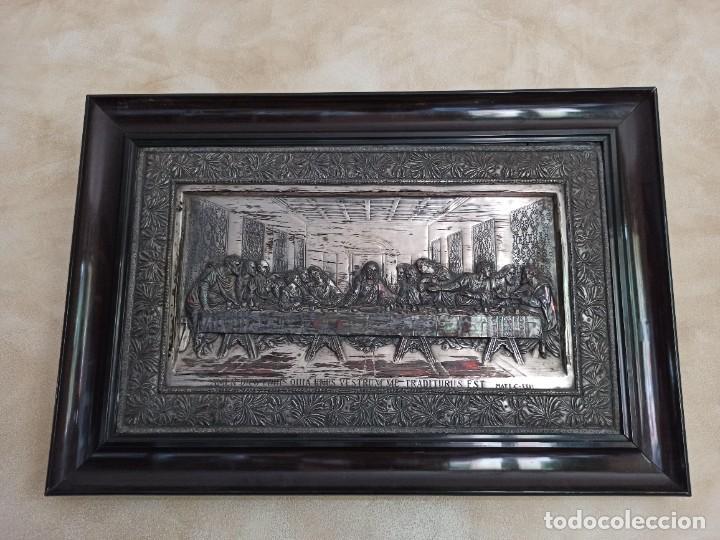 Antigüedades: Relieve de la Última Cena - Foto 2 - 218939740