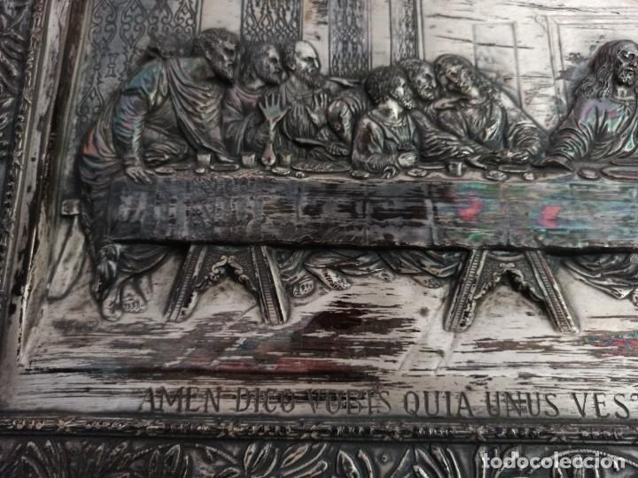 Antigüedades: Relieve de la Última Cena - Foto 4 - 218939740