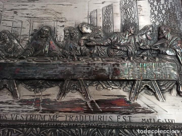 Antigüedades: Relieve de la Última Cena - Foto 5 - 218939740