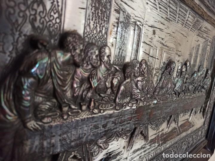 Antigüedades: Relieve de la Última Cena - Foto 6 - 218939740