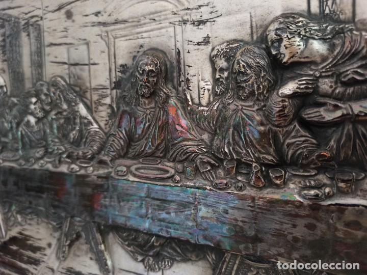 Antigüedades: Relieve de la Última Cena - Foto 8 - 218939740