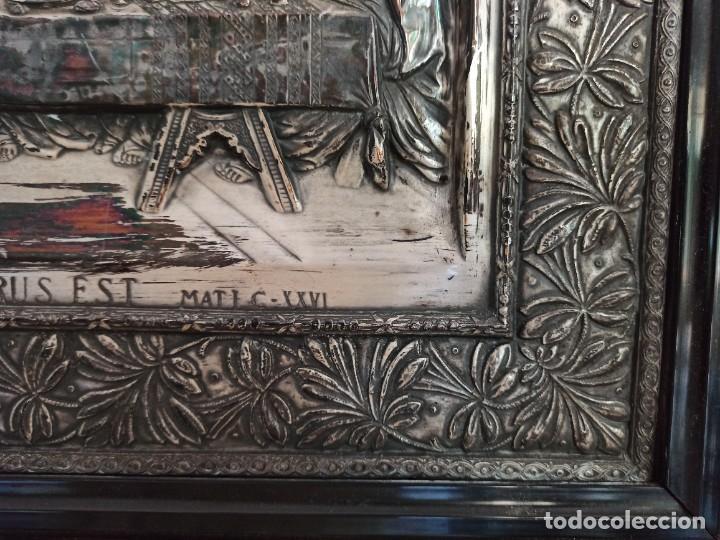 Antigüedades: Relieve de la Última Cena - Foto 9 - 218939740