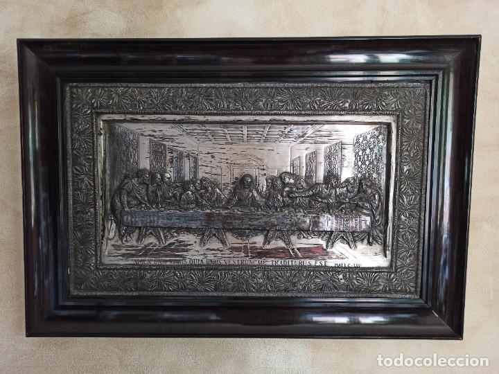 Antigüedades: Relieve de la Última Cena - Foto 10 - 218939740