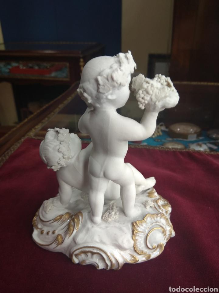 Antigüedades: Pareja de Niños con Cesta de Uvas - Porcelana Lladró - Primera Época - - Foto 7 - 218942456
