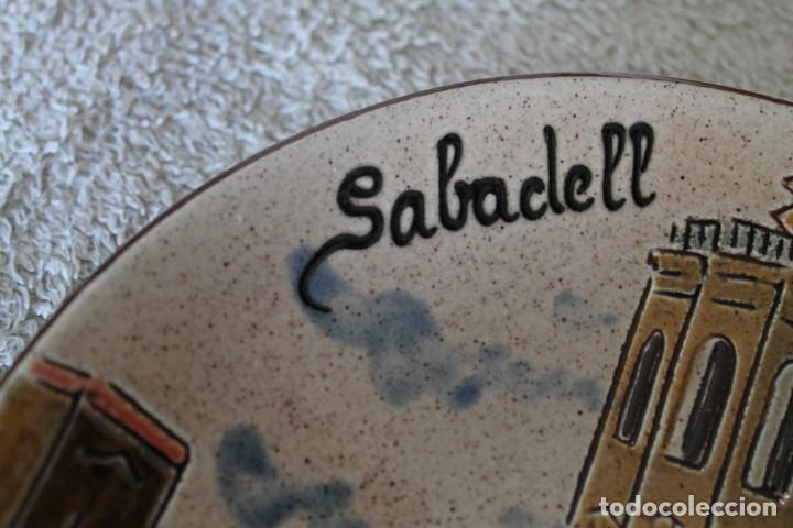 Antigüedades: PLATO CERAMICA SABADELL PARA COLGAR - Foto 2 - 218955493