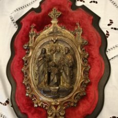Antigüedades: BENDITERA MUY ANTIGUA. Lote 218958015