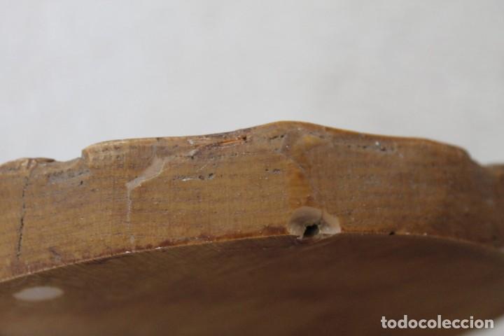 Antigüedades: PLATO ENRELIEVE AINSA PARA COLGAR - Foto 5 - 218958133
