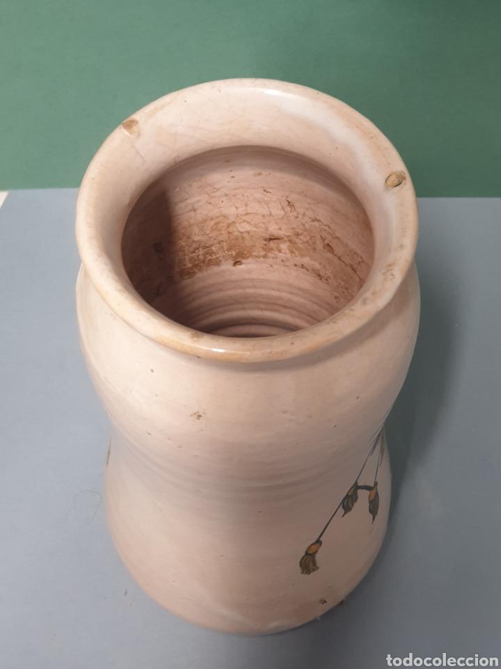 Antigüedades: Bote Albarelo de Farmacia del Ceramista Pablo Sanguino de Toledo 20,5 cm - Foto 6 - 218990428