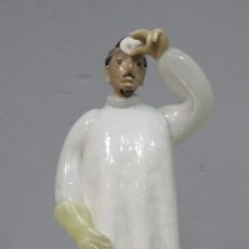 Antigüedades: FIGURA DE DOCTOR DE VIDRIO. BOHEMIA. Lote 219011465