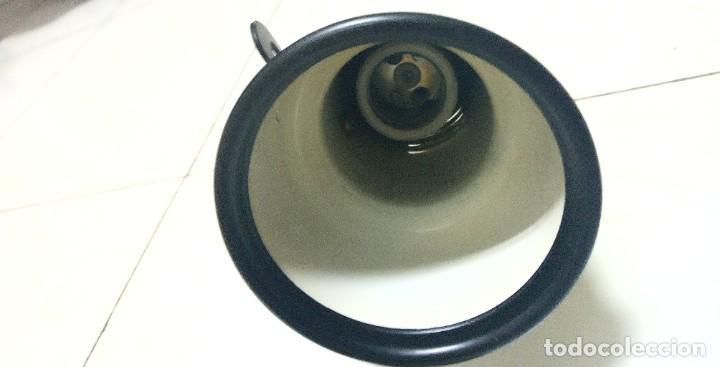 Antigüedades: Lámpara techo esmaltada doble foco - Foto 2 - 219017037