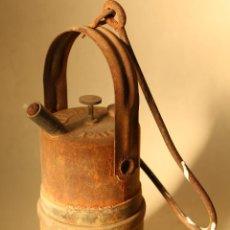 Antigüedades: LAMPARA DE CARBURO FISMA. Lote 219036225