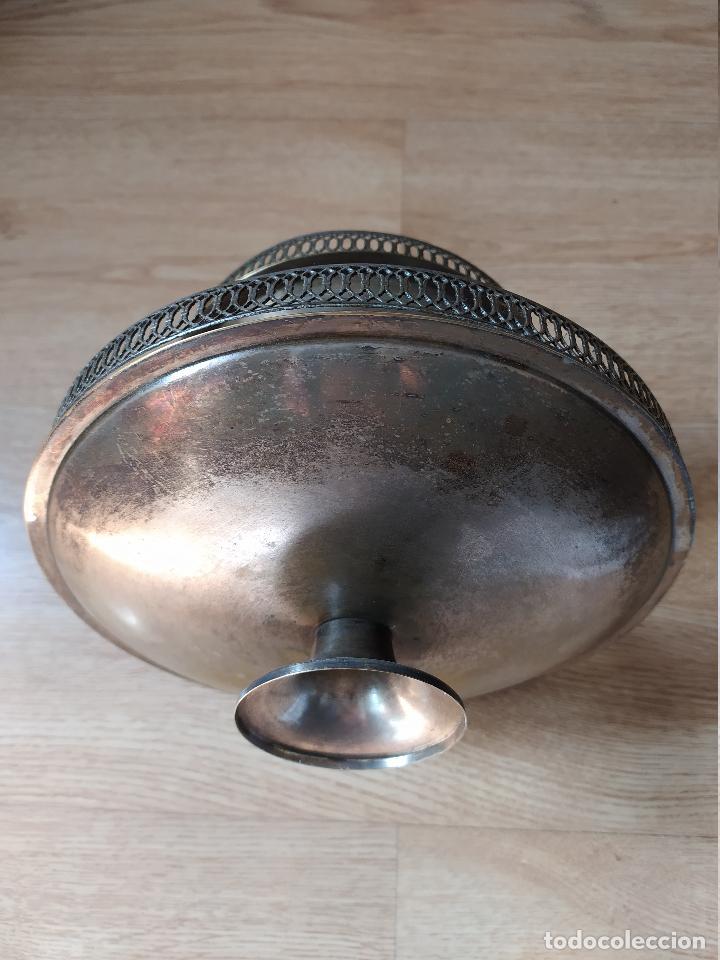 Antigüedades: Frutero bañado en plata - Foto 2 - 219069487