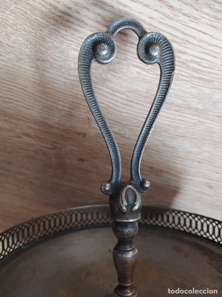Antigüedades: Frutero bañado en plata - Foto 4 - 219069487