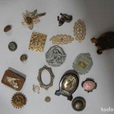 Antigüedades: LOTE PEQUEÑAS COSAS ANTIGUAS. Lote 219154600