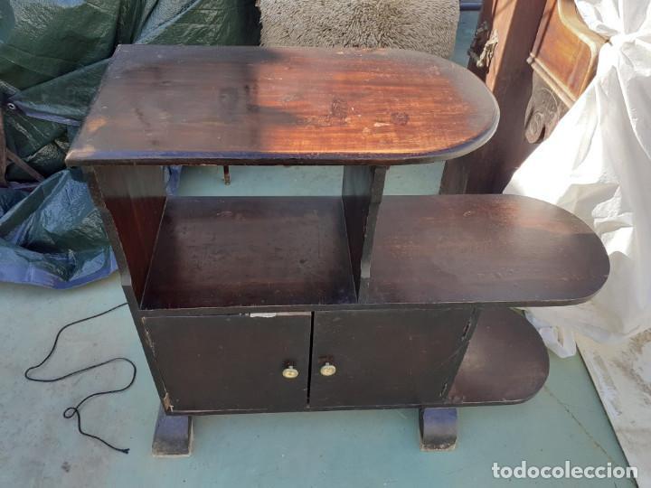 Antigüedades: mueble auxiliar estante - Foto 2 - 219174622