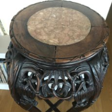 Antigüedades: PEDESTAL CAOBA. Lote 219205213