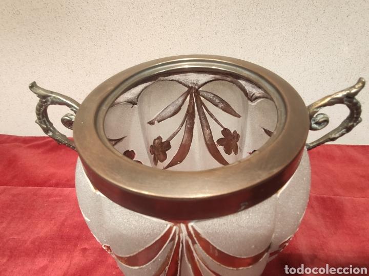 Antigüedades: Florero Art Déco - Foto 2 - 219235033