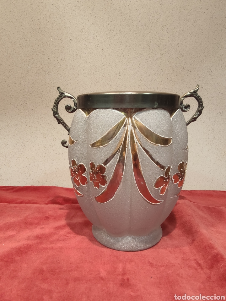 FLORERO ART DÉCO (Antigüedades - Hogar y Decoración - Floreros Antiguos)
