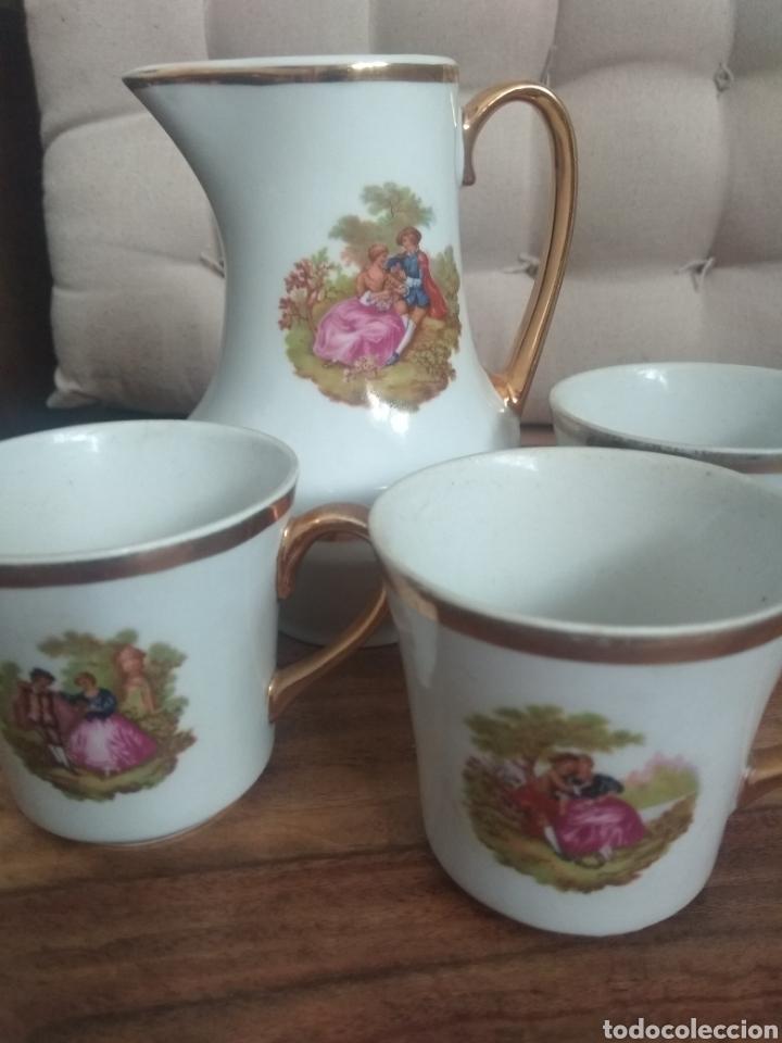 Antigüedades: Tazas y jarra - Foto 2 - 219296845