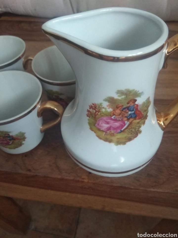 Antigüedades: Tazas y jarra - Foto 5 - 219296845