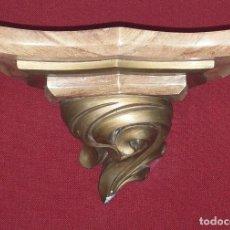 Antigüedades: PEANA DE ESTUCO SIGLO XIX. Lote 219300706