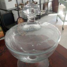 Antigüedades: BOMBONERA CRISTAL DE LA GRANJA.. Lote 219367933