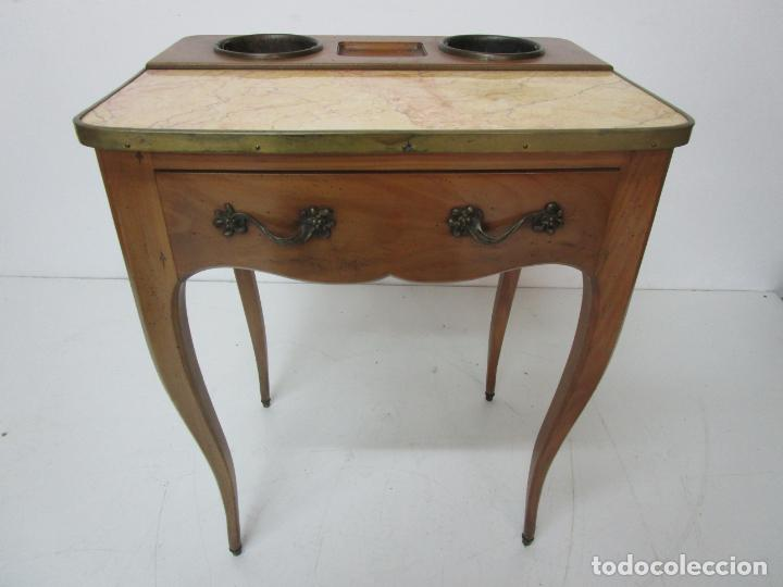 Antigüedades: Bonita Mesa - Estilo Luis XV - Certificado Muebles d´Histoire Christian Robert - Foto 3 - 219368016