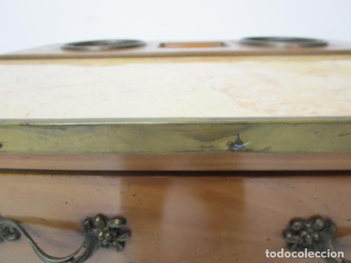 Antigüedades: Bonita Mesa - Estilo Luis XV - Certificado Muebles d´Histoire Christian Robert - Foto 5 - 219368016