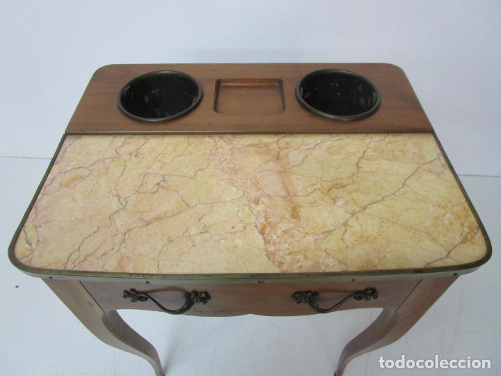Antigüedades: Bonita Mesa - Estilo Luis XV - Certificado Muebles d´Histoire Christian Robert - Foto 6 - 219368016