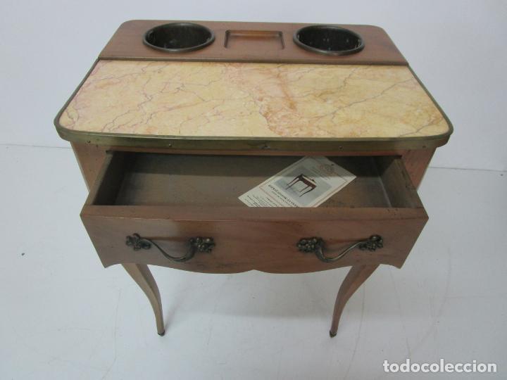 Antigüedades: Bonita Mesa - Estilo Luis XV - Certificado Muebles d´Histoire Christian Robert - Foto 7 - 219368016