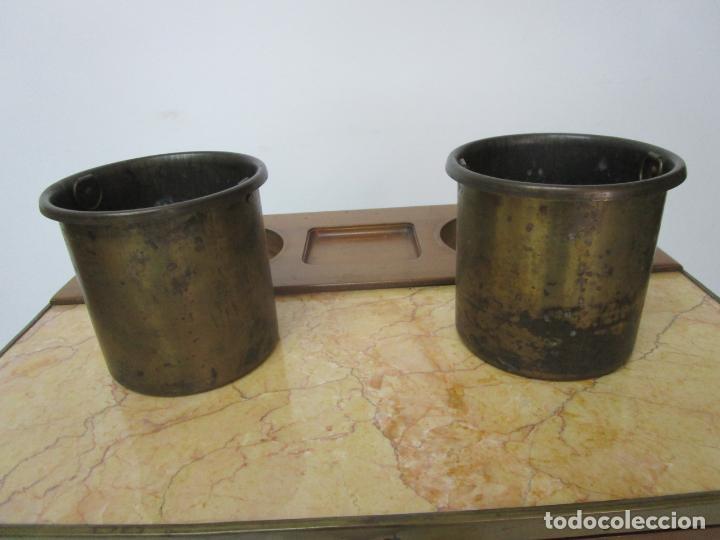 Antigüedades: Bonita Mesa - Estilo Luis XV - Certificado Muebles d´Histoire Christian Robert - Foto 9 - 219368016