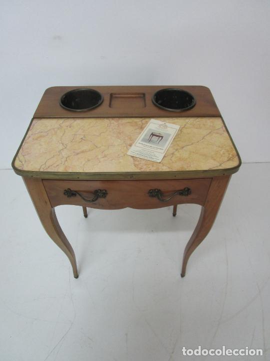 Antigüedades: Bonita Mesa - Estilo Luis XV - Certificado Muebles d´Histoire Christian Robert - Foto 19 - 219368016