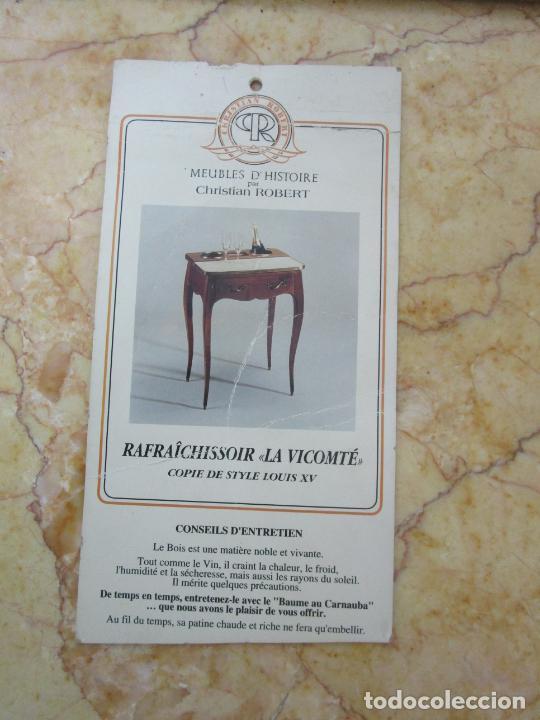 Antigüedades: Bonita Mesa - Estilo Luis XV - Certificado Muebles d´Histoire Christian Robert - Foto 20 - 219368016