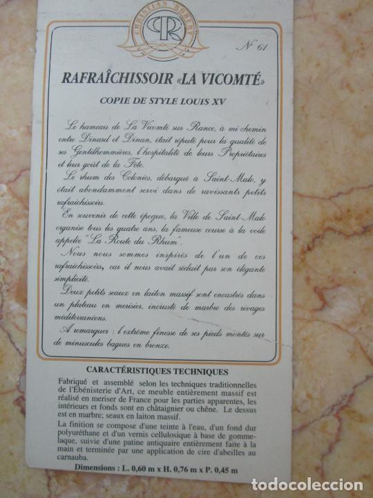 Antigüedades: Bonita Mesa - Estilo Luis XV - Certificado Muebles d´Histoire Christian Robert - Foto 21 - 219368016