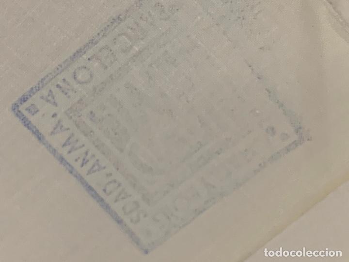 Antigüedades: Pieza de tela de puro algodon, para hacer sabanas, sin estrenar. Mide unos 18 metros x 165cms ancho - Foto 3 - 219368645