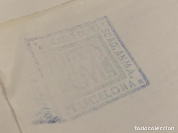Antigüedades: Pieza de tela de puro algodon, para hacer sabanas, sin estrenar. Mide unos 18 metros x 165cms ancho - Foto 4 - 219368645