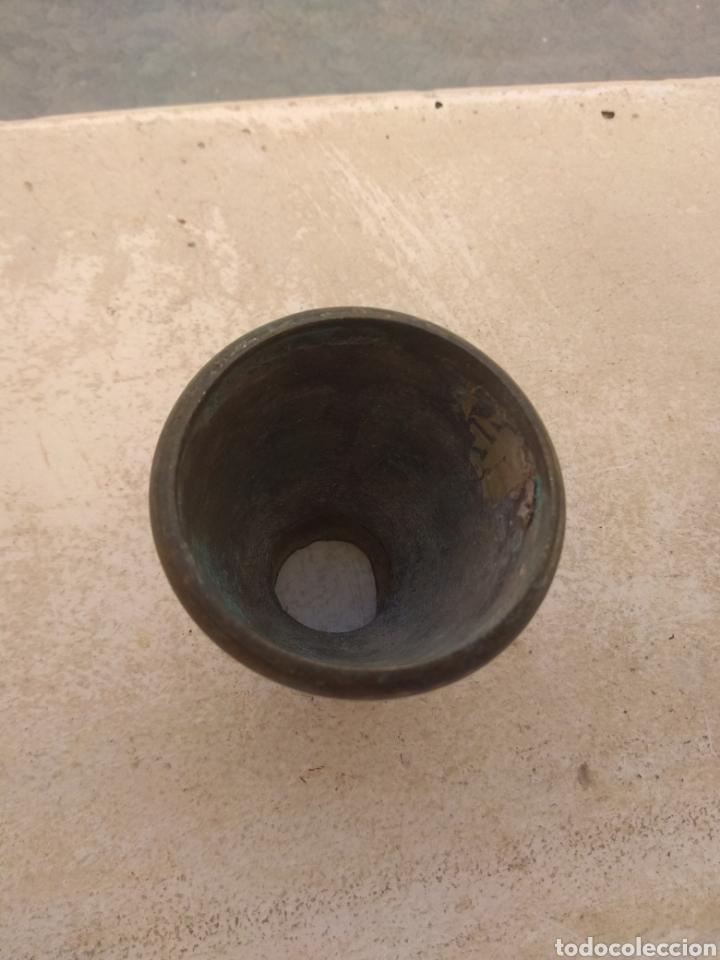 Antigüedades: Pata Embellecedora de Bronce para Mueble Grande - Foto 2 - 219415042